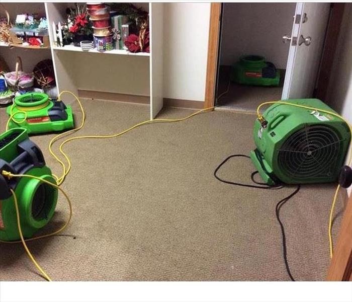 Water Damage to Carpeting in Ft. Myers After