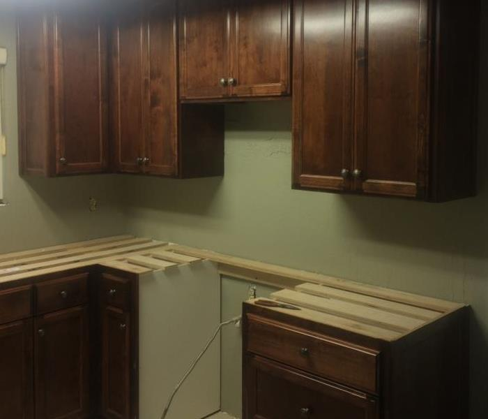 Servpro of n ft myers punta gorda before and after photos for Kitchen cabinets fort myers