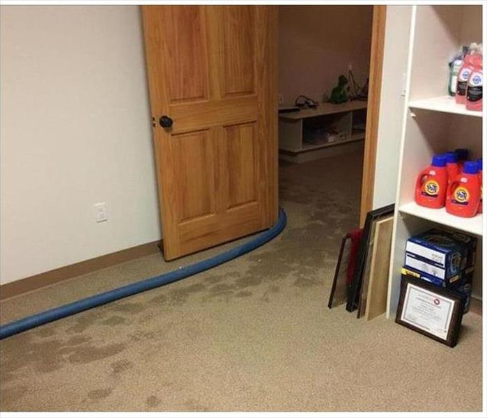 Water Damage to Carpeting in Ft. Myers Before
