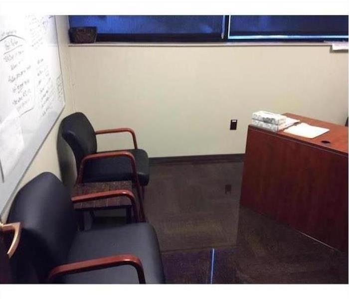 Water Damage – Ft. Myers Office Before