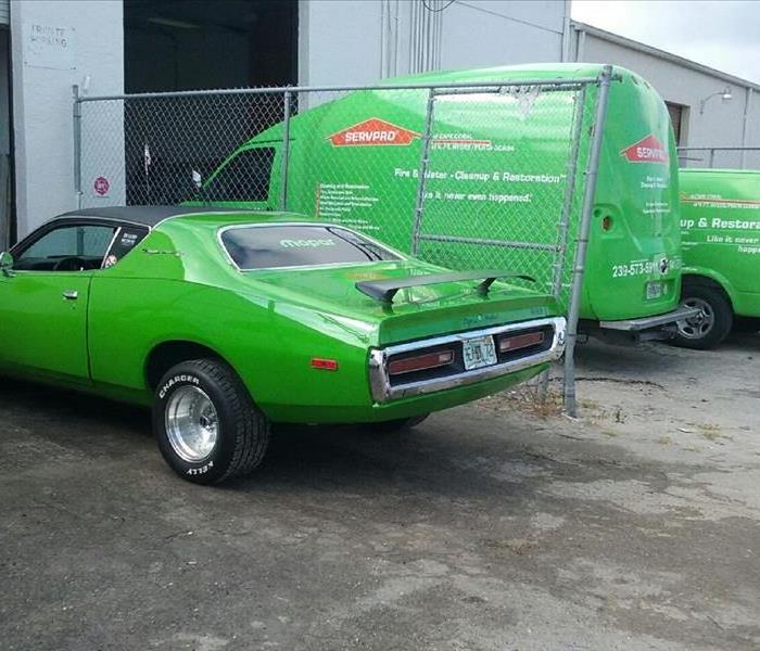 1972 Dodge Charger is faster to any disaster.