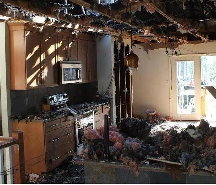Fire-Ravaged Kitchen in Punta Gorda